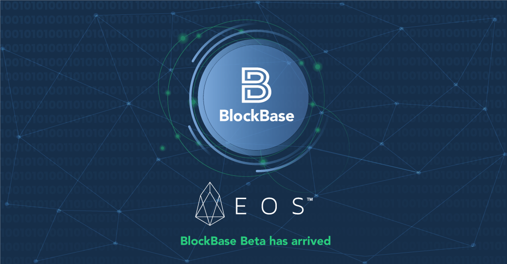 This is an image about blockbase arriving to the EOS main network