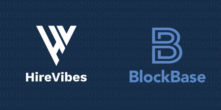This is an image about HireVibes joining the BlockBase Network