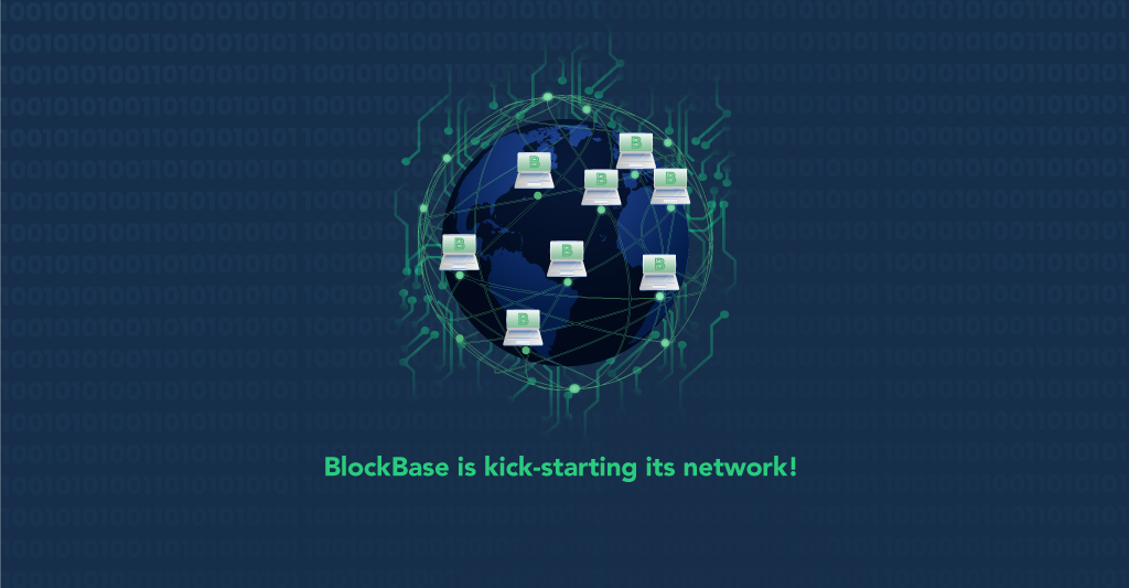 This is an image about the BlockBase kickstarting its network