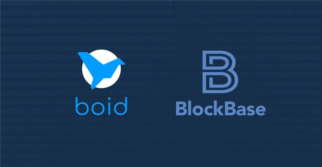 This is an image about Boid joining the BlockBase Network