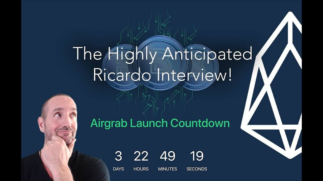 #BlockBase Airgrab and Interview w/Ricardo Chief Architect - $EOS Secure Database Storage